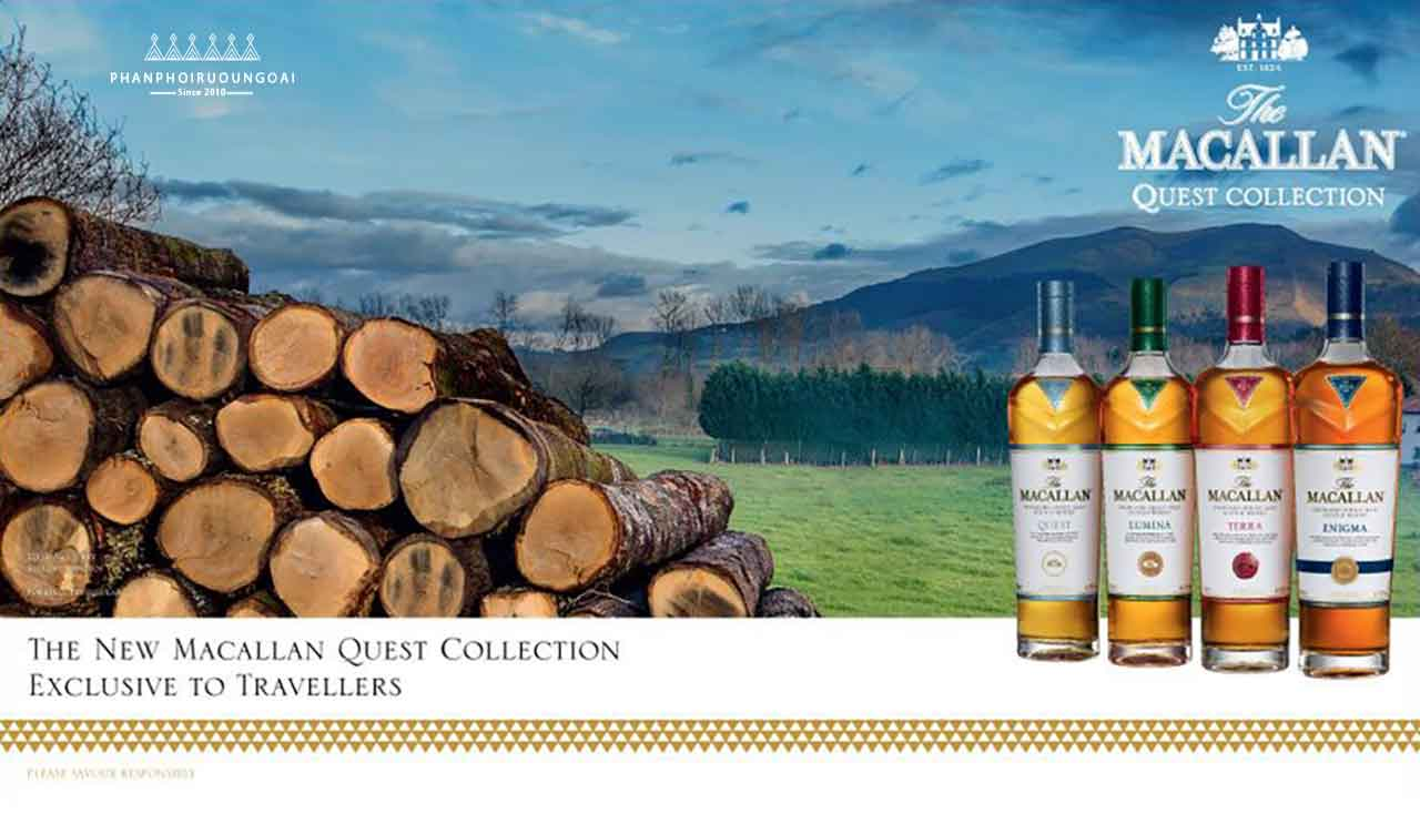 cac loai ruou trong dong The Macallan Quest Collection 1